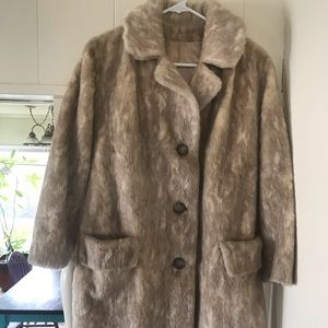 Jackets & Blazers - Faux Fur Coat - Festival Wear